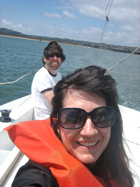 Sailing is fun