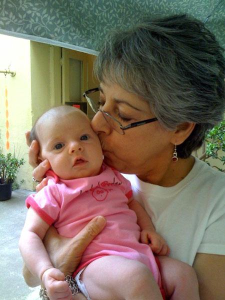 Grandma Judy loves Isadora