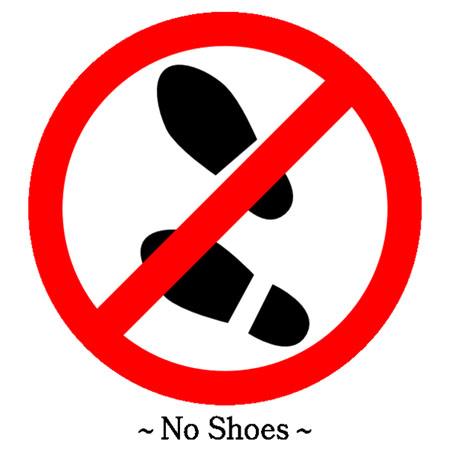 no shoe shoes